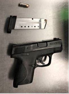 Pistol seized from Dinwiddie man at Richmond International Airport checkpoint