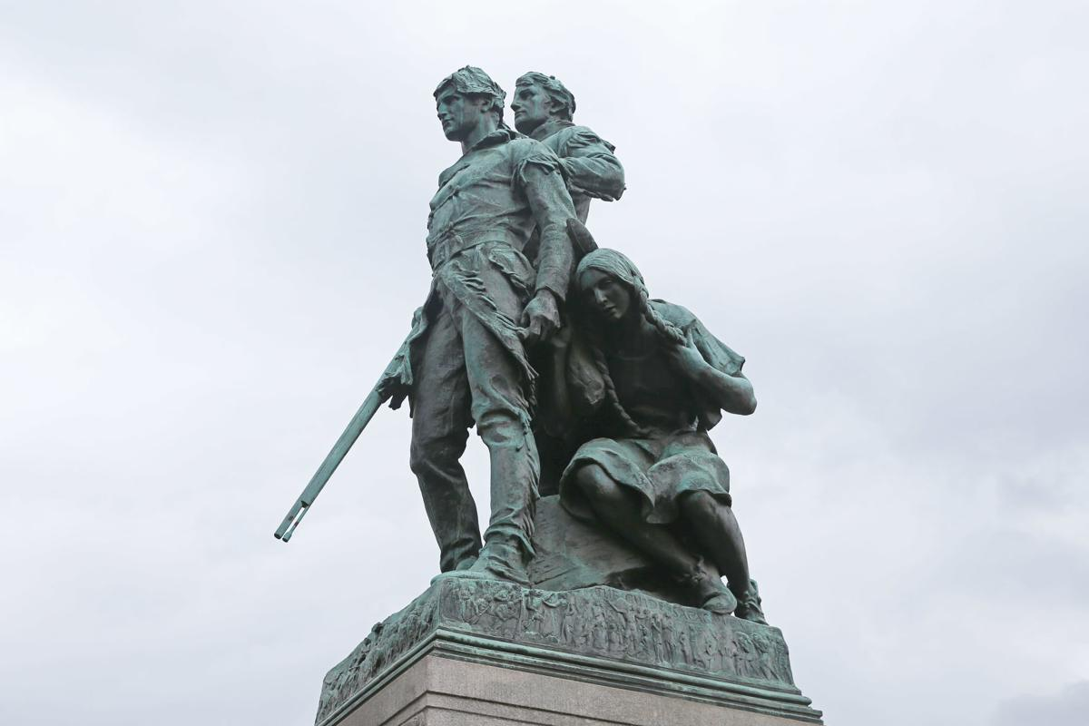 Lewis and Clark and Sacajawea statue