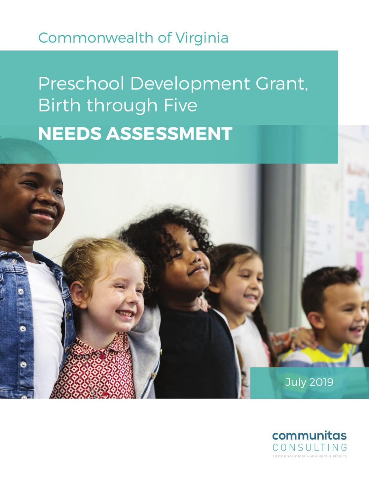 Virginia Early Childhood Needs Assessment