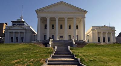 Virginia State Capitol - South portico