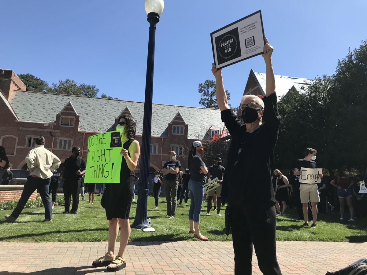 UR protest