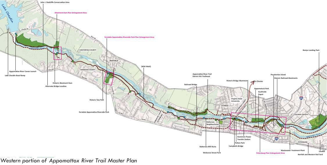 Western portion of appomattox river trail master plan richmond download pdf western portion of appomattox river trail master plan sciox Images