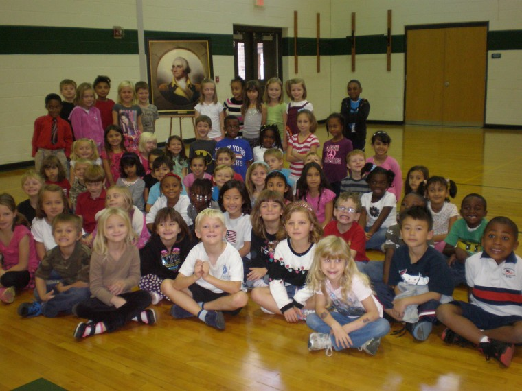 Greenfield Elementary School Annual Virginia History Day