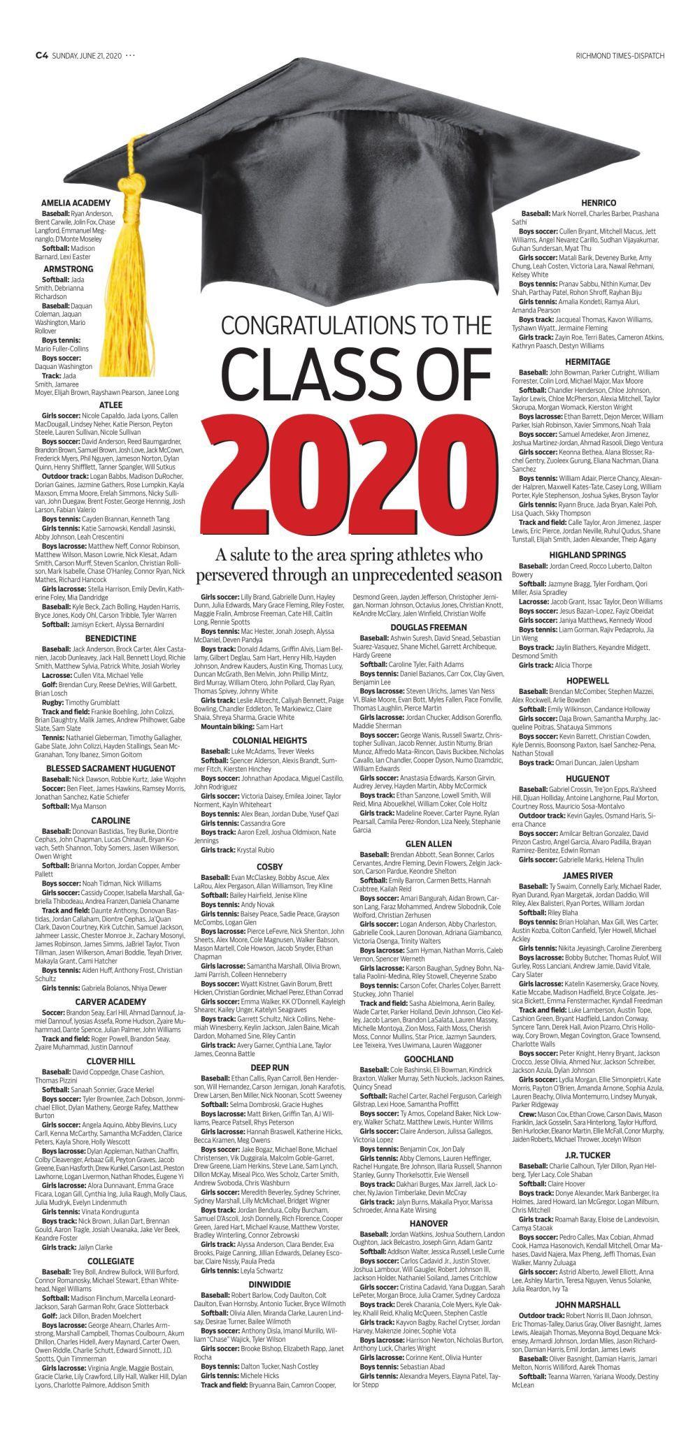 Seniors Page 1