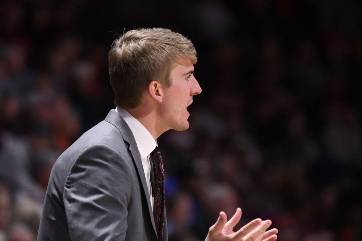 Teel Virginia Tech Assistant Kevin Giltner Mapped Out His Basketball Coaching Path Early College Sports Richmond Com
