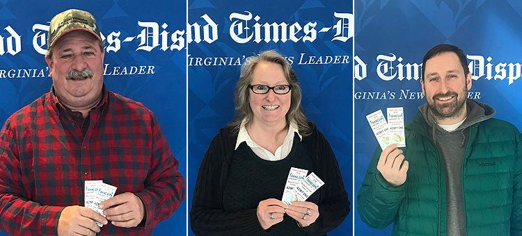 Meet the three winners of tickets to the Richmond Fishing Expo