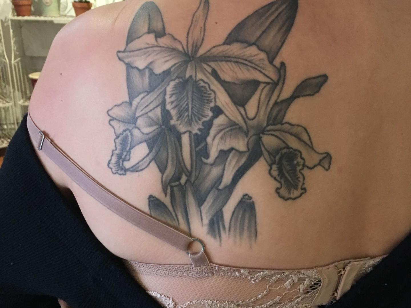 Orchids Orchid Tattoos Are Always In Bloom Richmond Com