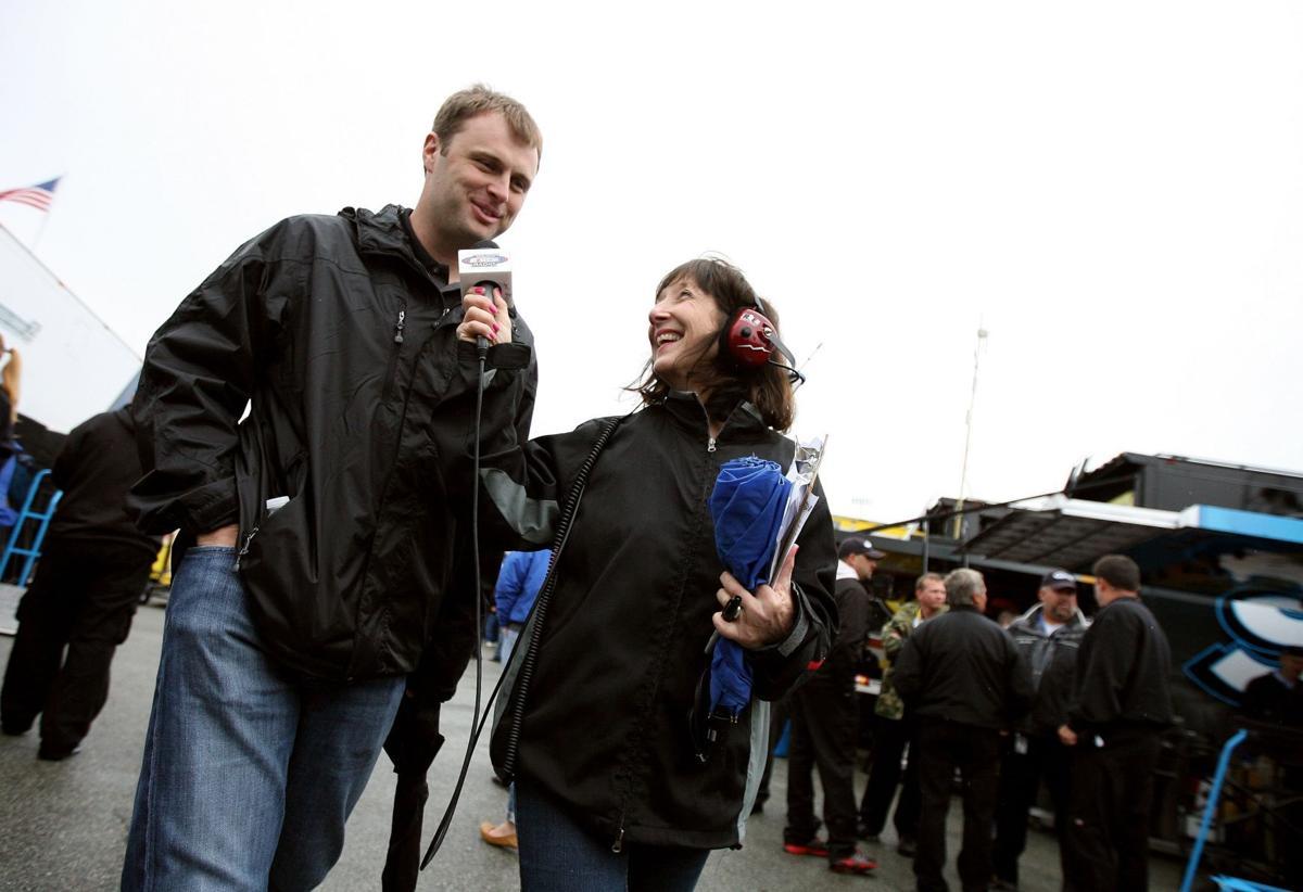 Tireless NASCAR radio reporter 'Claire B' always gets the