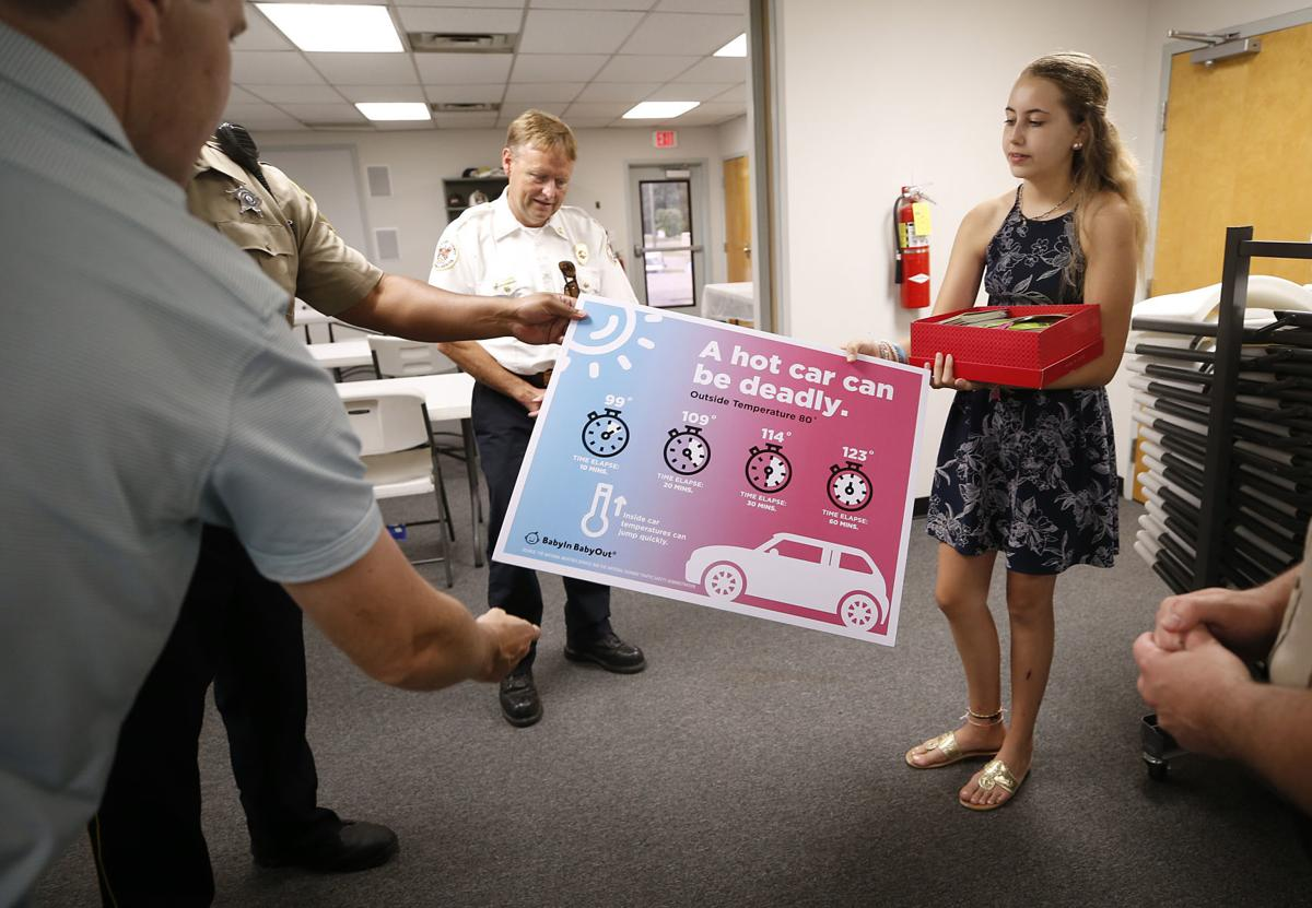 No child left behind in hot car: Chesterfield teen developed