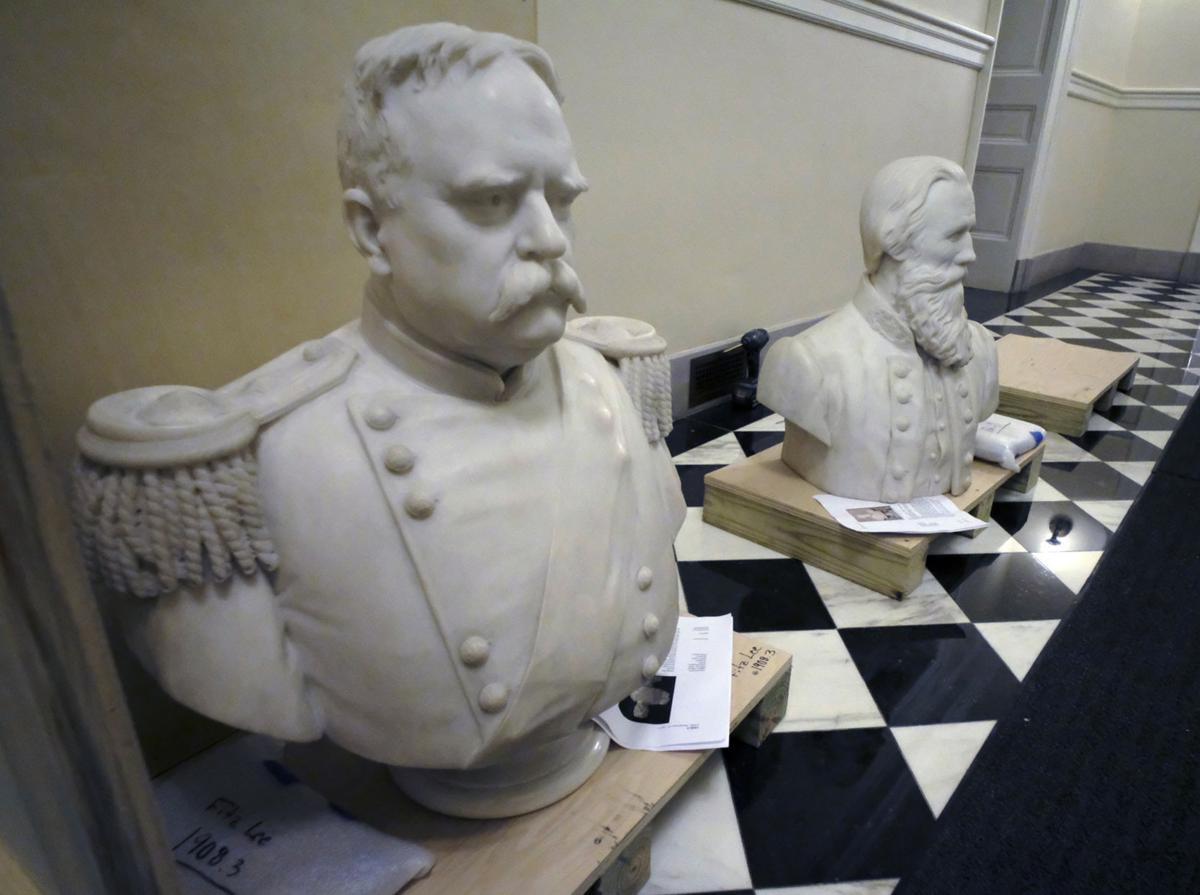 Confederate Statues Virginia Capitol