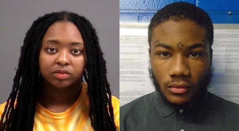 Destiny Harris and Rashad Williams