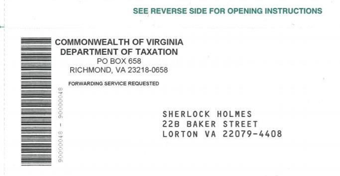 Checks By Mail >> Virginia Gets The Last Of Nearly 2 7m Special Tax Refund