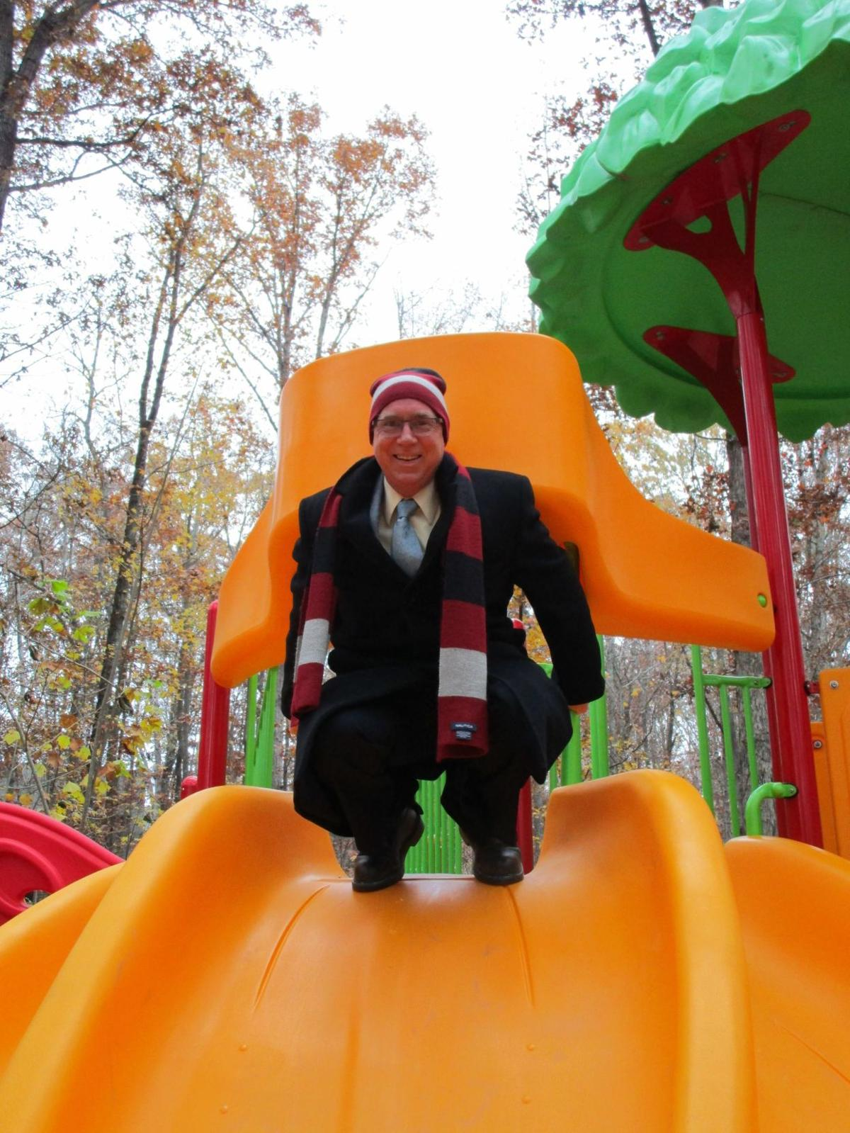 Playground dedicated to memory of Chris Rapp