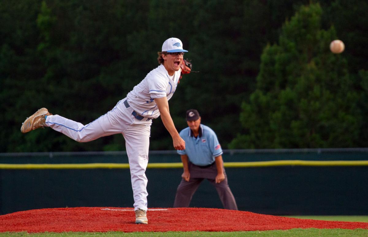 Menchville at Hanover baseball: Keller throws a strike