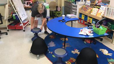 PCPS teachers use flexible seating grants to update their classrooms