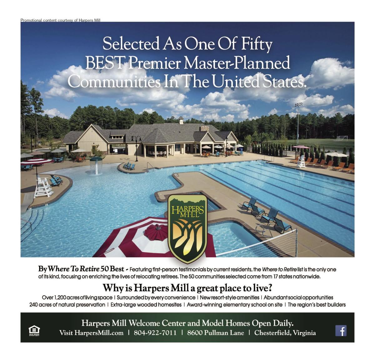 Harpers Mill: Selected as one of fifty best 02