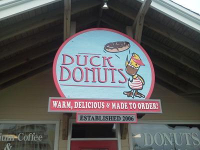 Duck Donuts in Kitty Hawk, N.C.