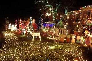 Tacky Lights: 10154 Carol Anne Road