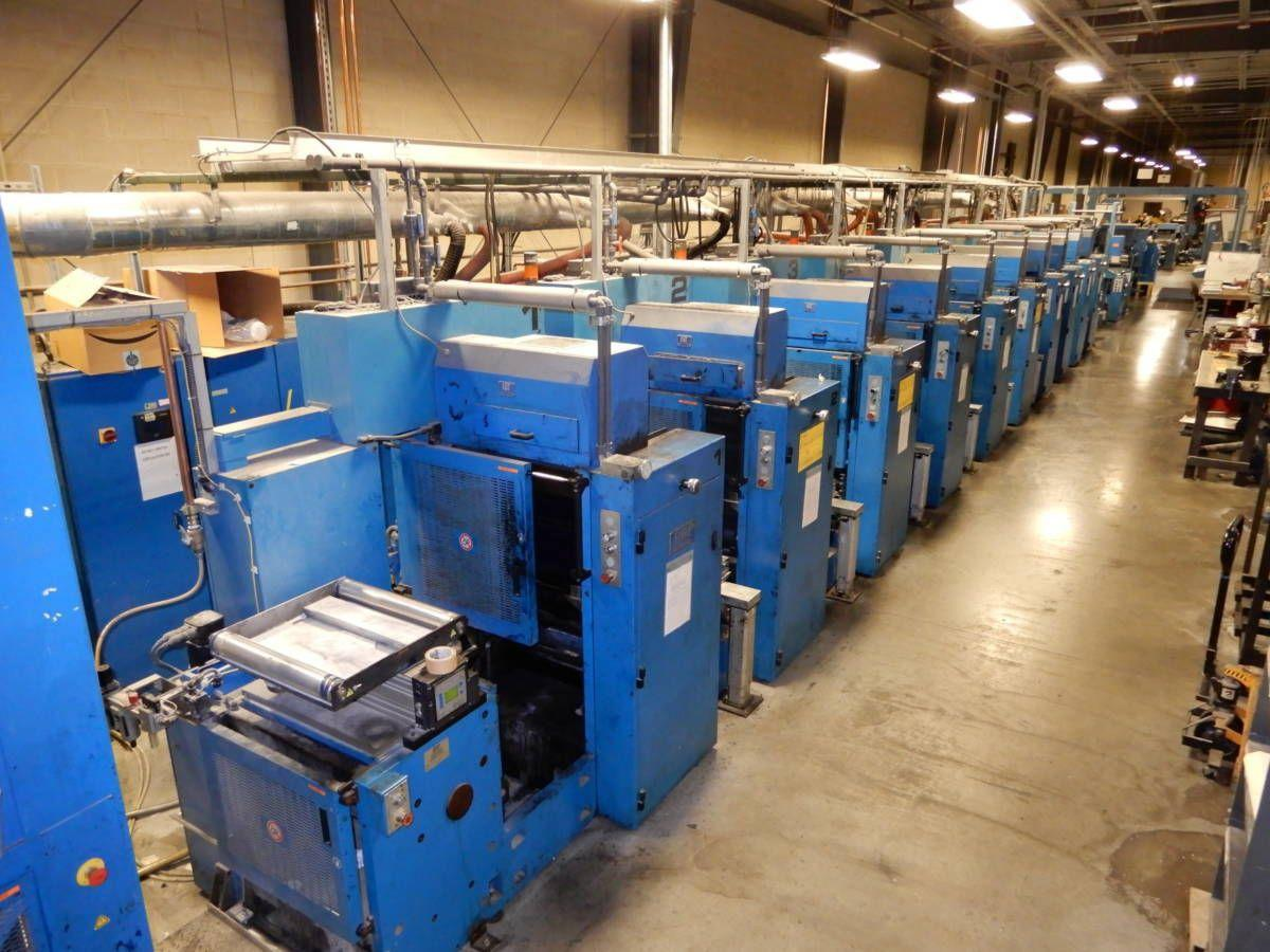 Presses and other equipment from Henrico-based printing