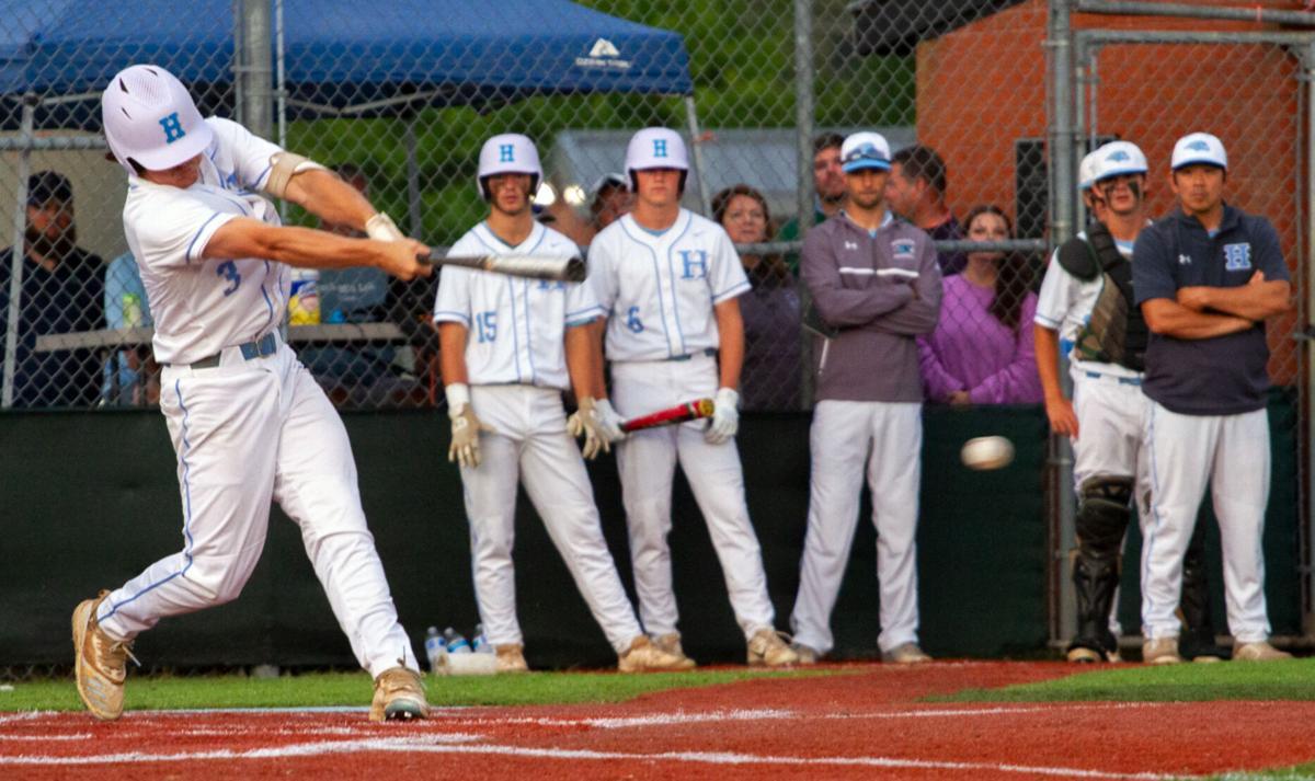 Menchville at Hanover baseball: Keller gets a hit
