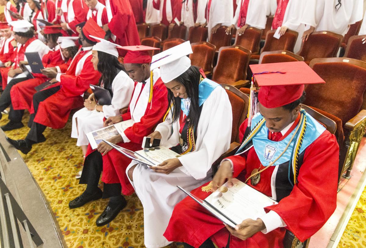 Thomas Jefferson High School graduation ceremony1