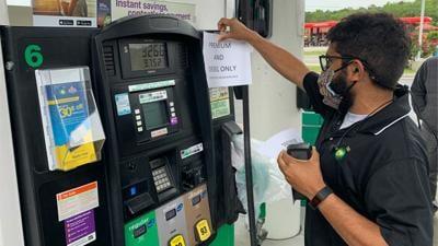 Gas panic impacts Powhatan stations
