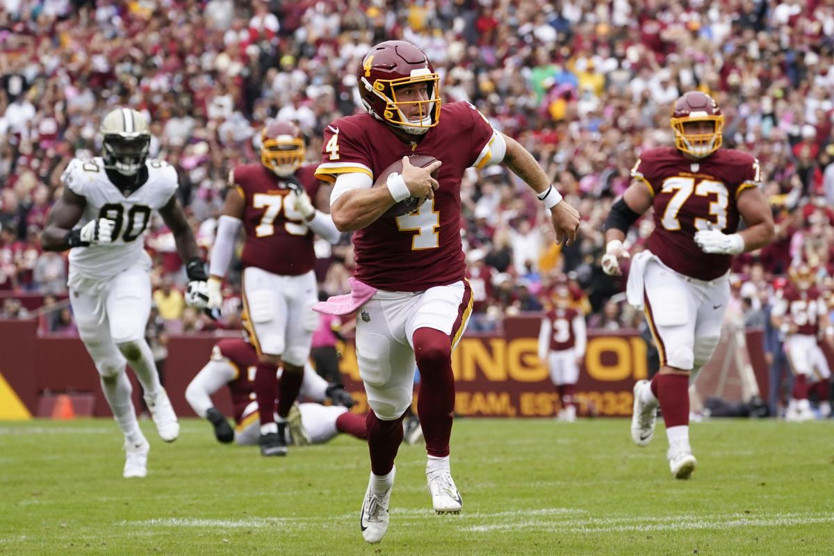 Saints Washington Football