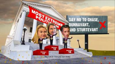 Image from Fund Her ad on Sturtevant and Dunnavant