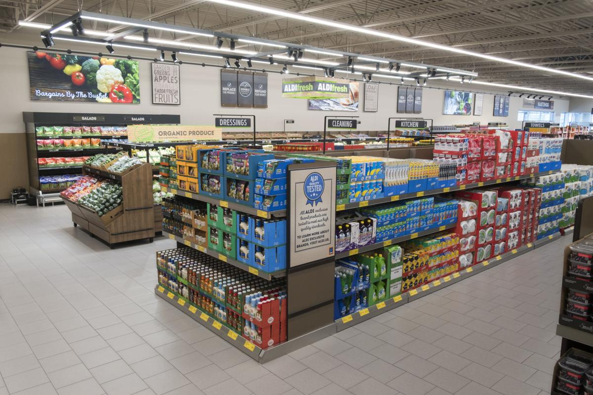 Aldi Opens Store With New Design In Midlothian