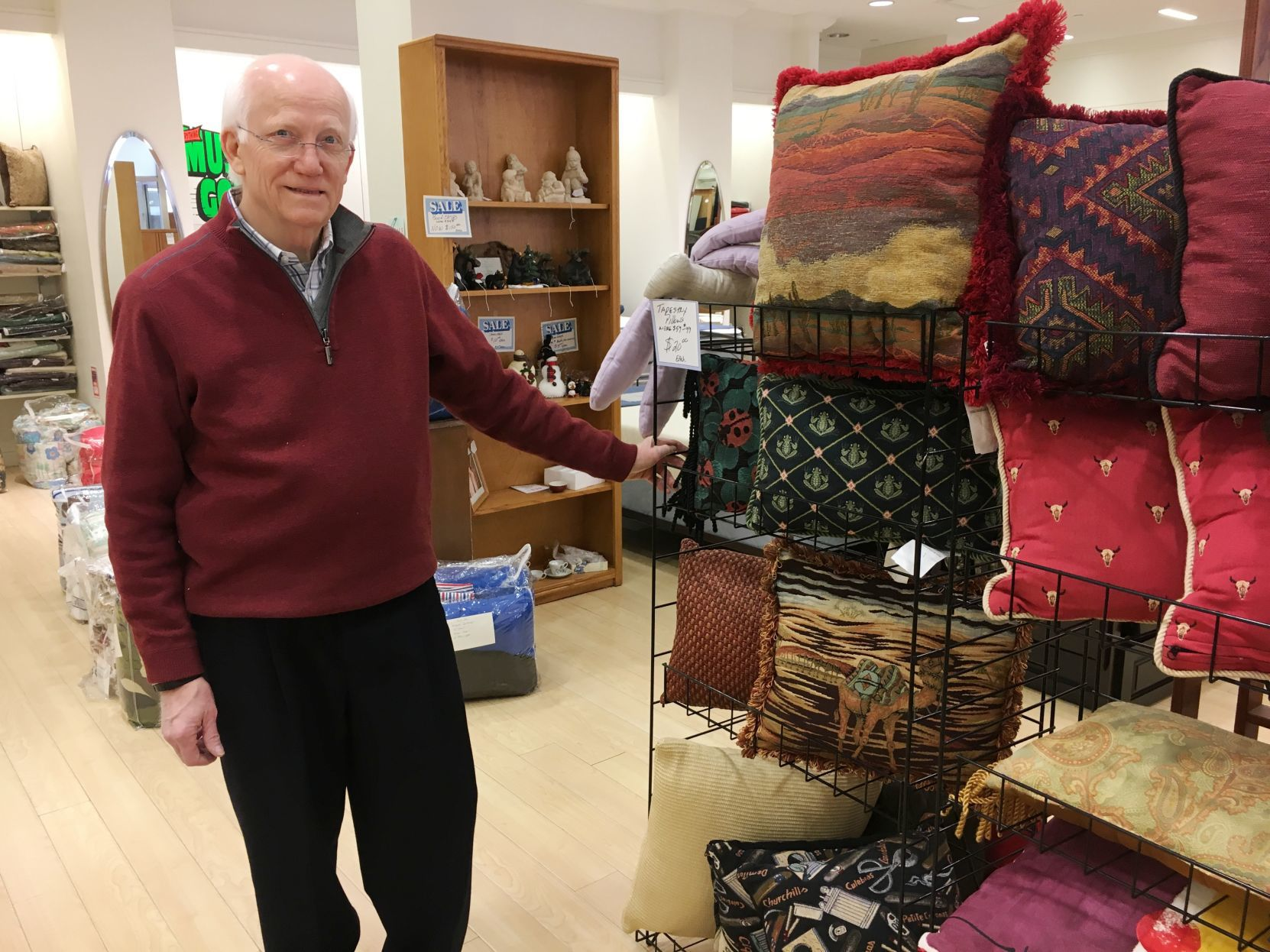 Environs Urban Home Owner Gerald King Is Closing His Home Furnish Ings  Store In The Stony Point Fashion Park And Retiring.