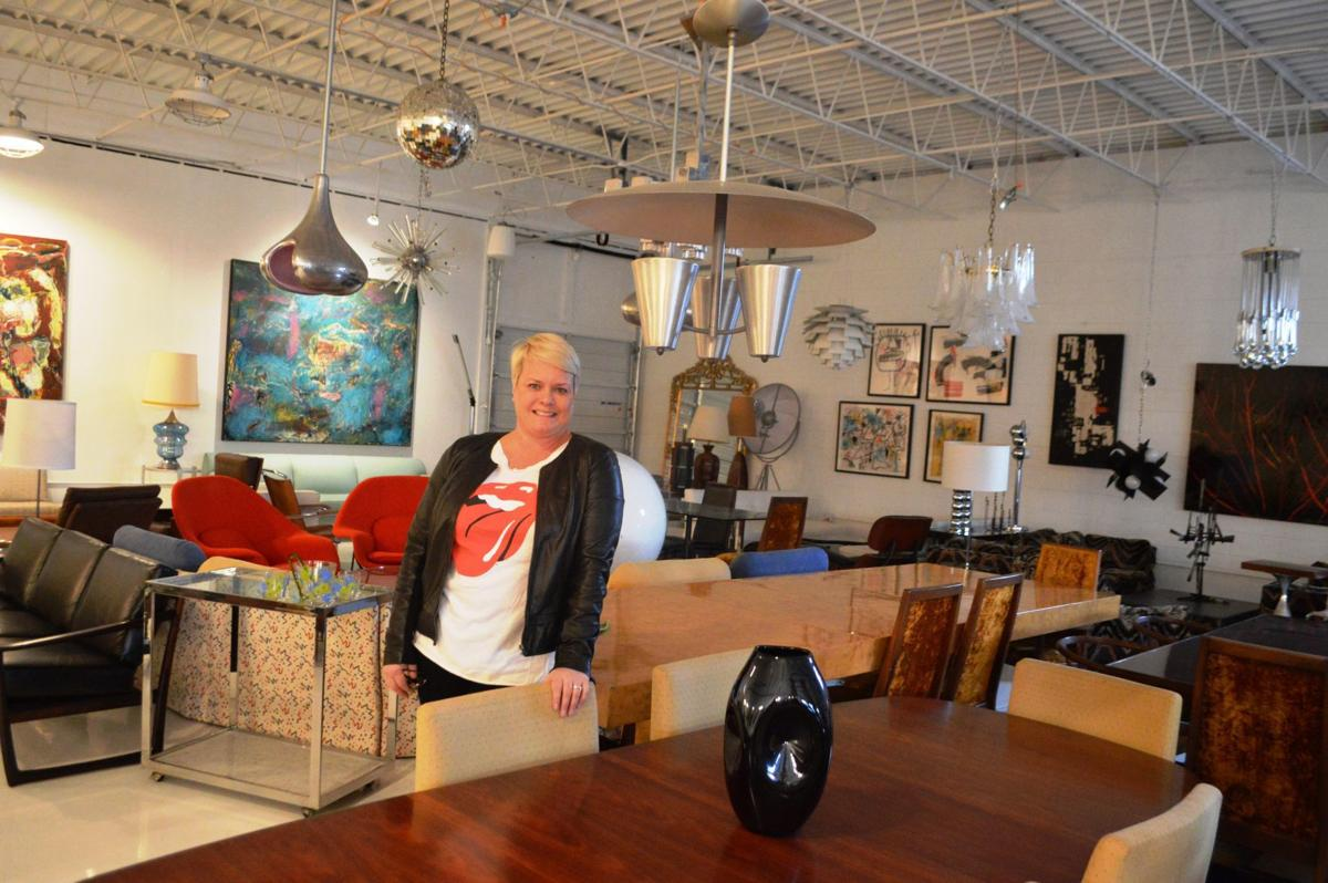 Janet Morris In The Showroom Of Mid Century On Kelly Road Richmond