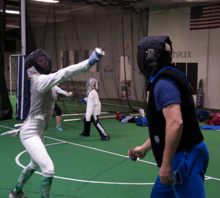 Fencing academy teaches serious swordplay | Sports ...