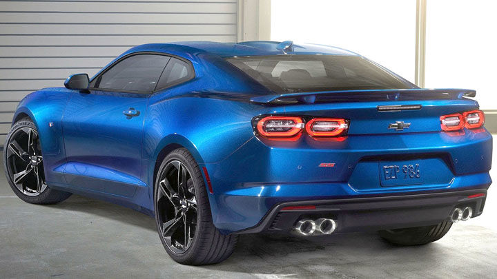 2019 Chevrolet Camaro Restyled Front And Rear Same Fun