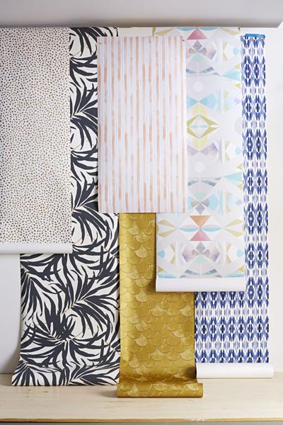 Removable Wallpaper That Peels Off In A Snap Comes Wide Range Of Patterns And Is Perfect For Renters Those Afraid Long Term Wall Covering
