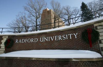 Radford University at Christmas