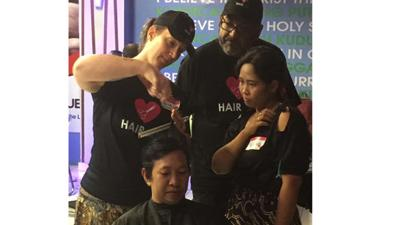Powhatan County couple helps change lives one haircut at a time