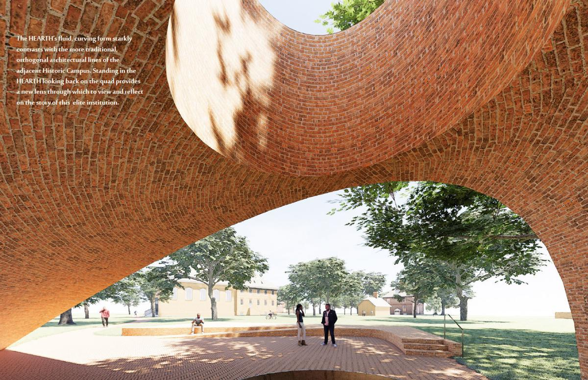 William & Mary Slave Memorial Rendering 1