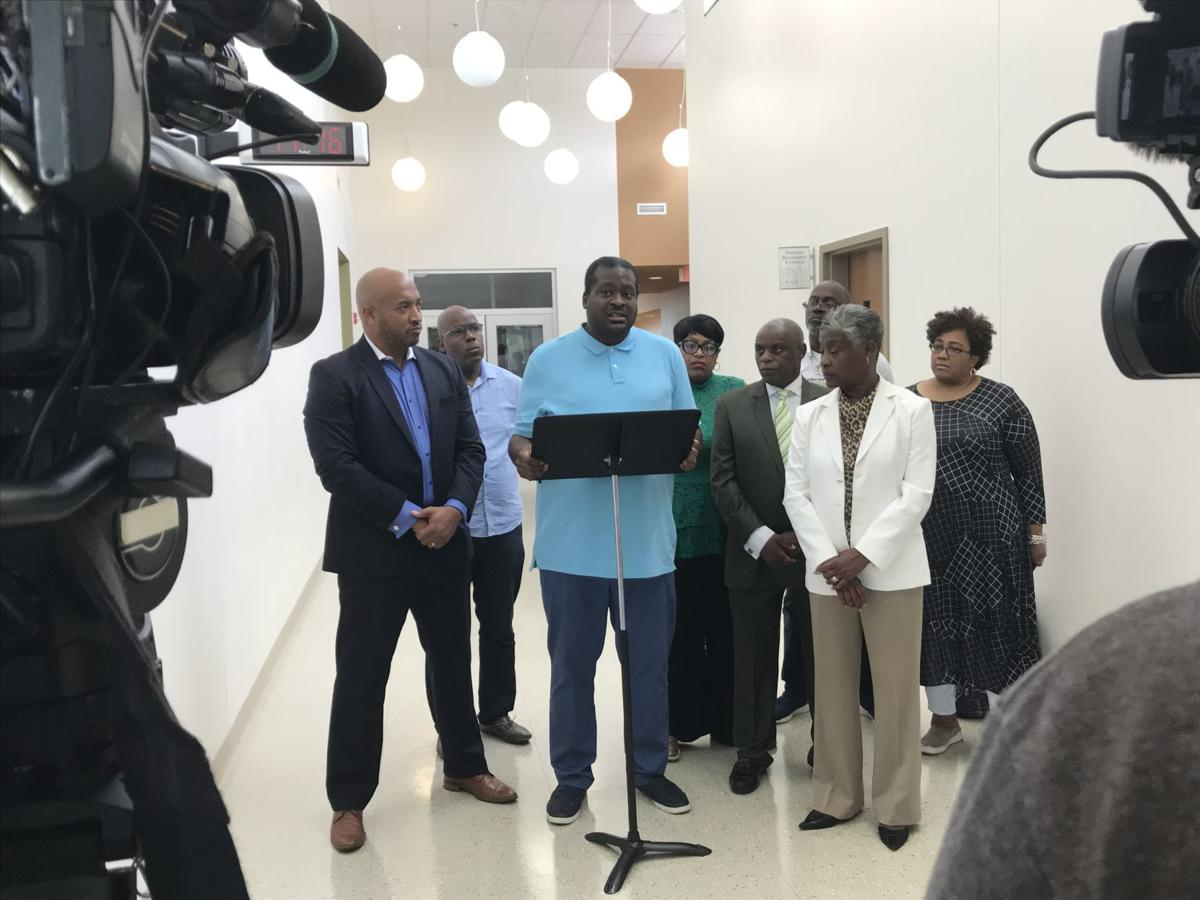 NAACP holds press conference to condemn shootings at MLK Middle School