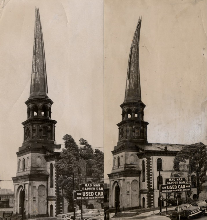 Why richmond why what happened to church steeples why archive old trinity methodist church steeple altavistaventures Images