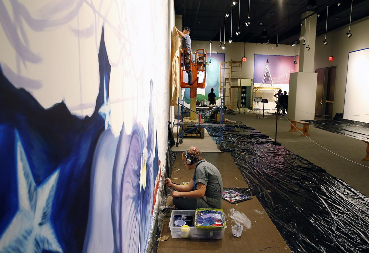Watch the artists at work: 'Fresh Paint' murals in progress