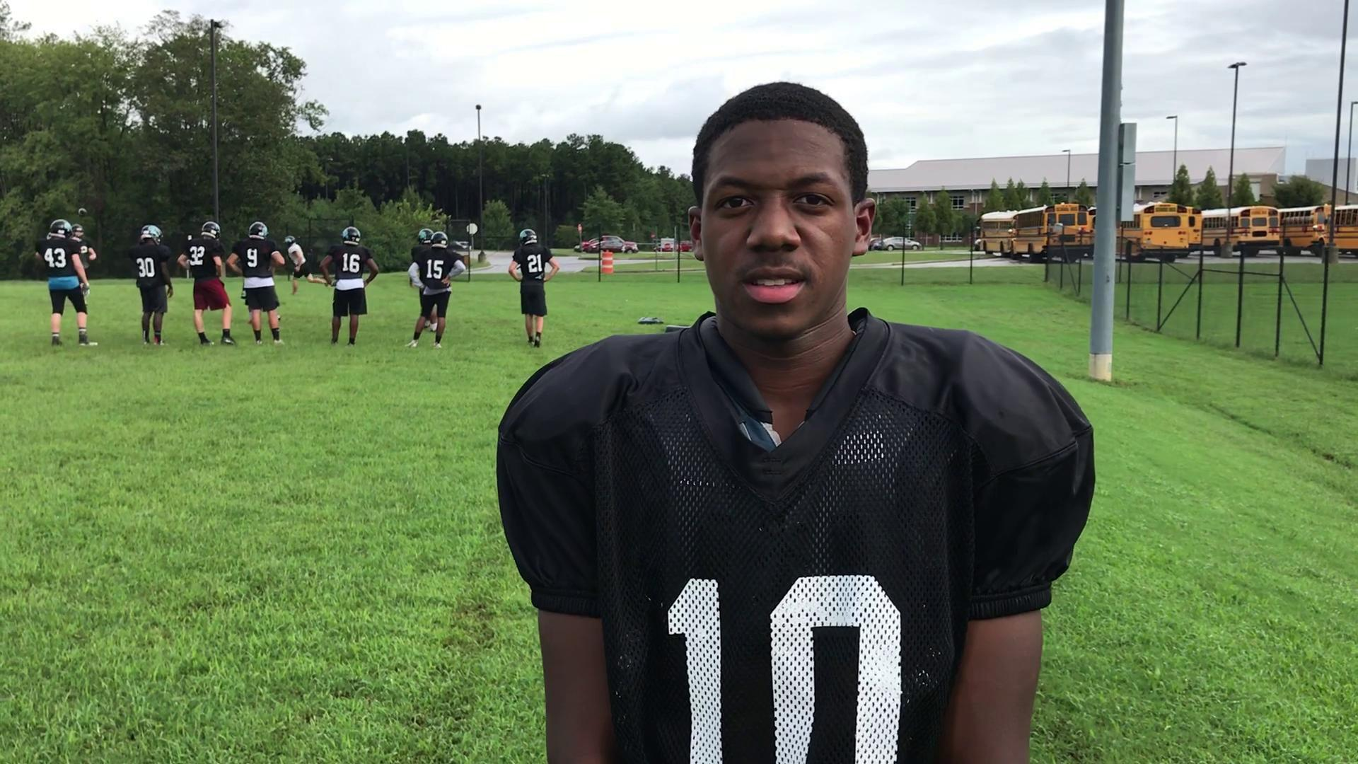 Video  Glen Allen s Donovan Riddick discusses his player of the week  performance  feac25b8c