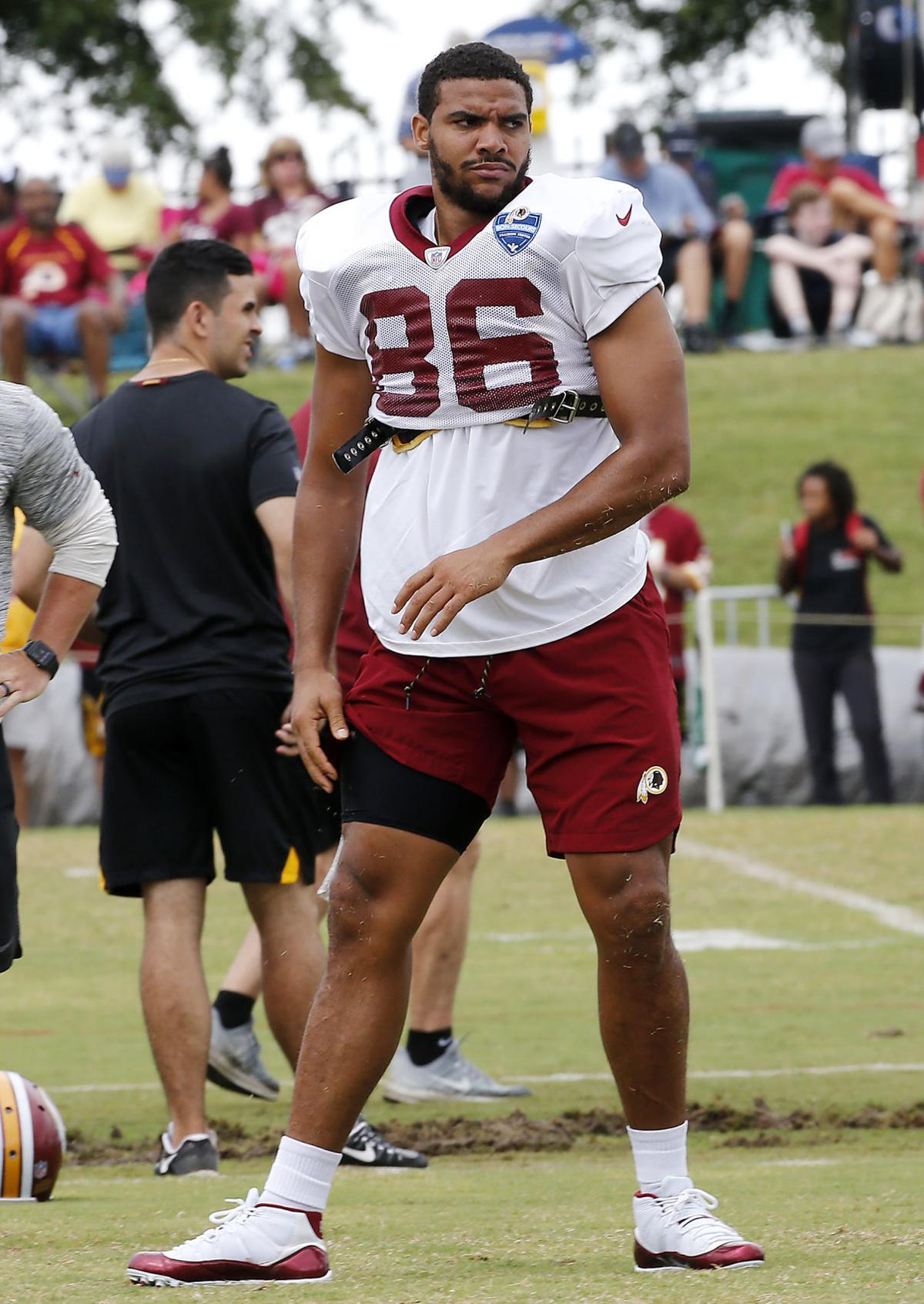 Jordan Reed says he's at 80 to 85 percent, pleased with ...