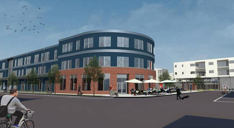Work Starting Soon On Symbol Offices Apartments In Scotts Addition
