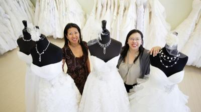 Sisters Carry On Legacy Of Bridal Elegance Shop Business