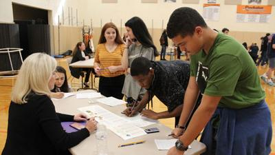 Powhatan High School students get dose of financial reality