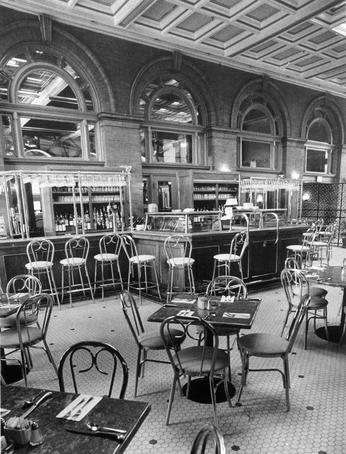 From The Richmond Restaurant Archives Palm Court Café A Short Lived Seafood And Jazz In Main Street Station