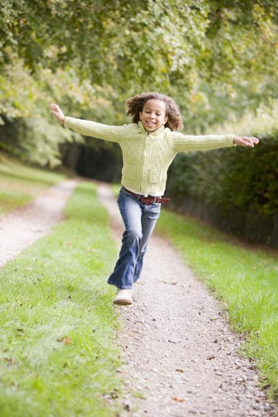 Physical activity is very important for a child or teen's mental and physical health.