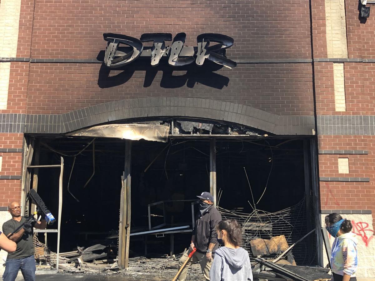 DTLR fire