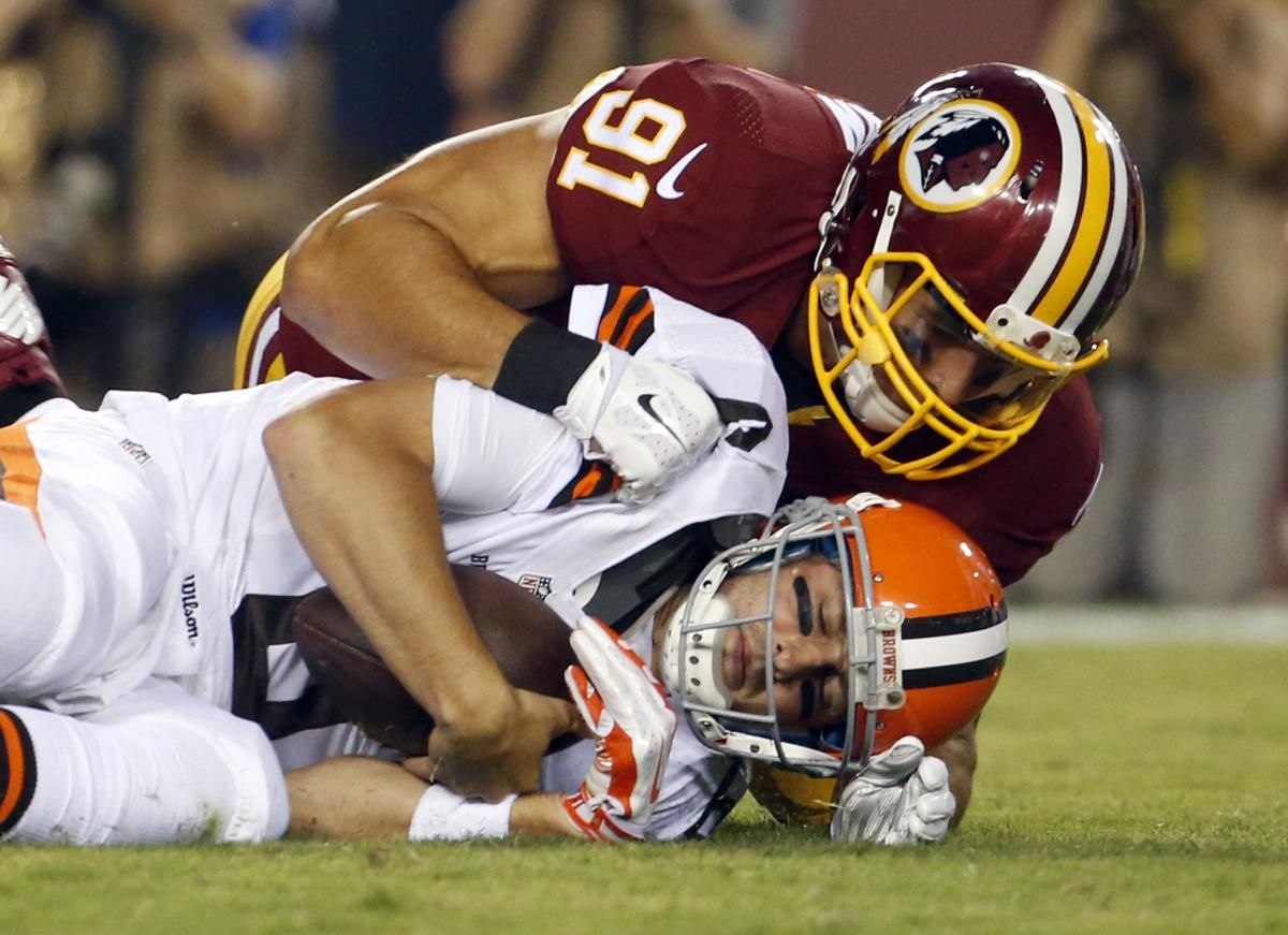 Redskins First Person Ryan Kerrigan on what it s like to sack an