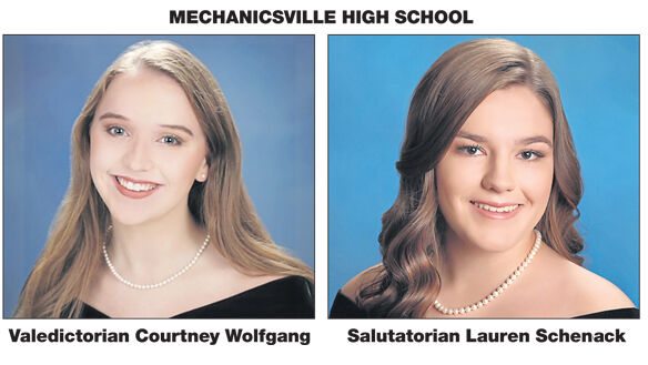 Wolfgang and Schenack lead  Mechanicsville High School